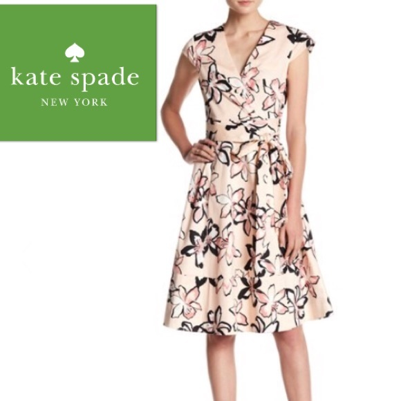709935bf5c kate spade Dresses | Tiger Lily Pink Wrap Dress Nwt | Poshmark